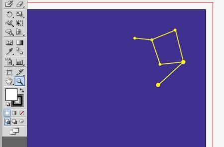 星占いポストカード 同じく星の配置を…