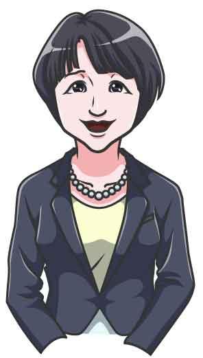 似顔絵デジタルデータメイキング‐服装色変え
