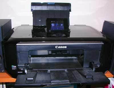 似顔絵印刷のカラープリンター