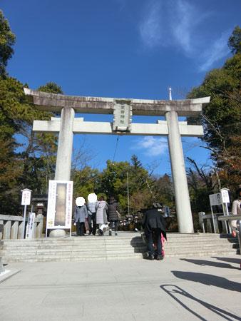 武田神社鳥居