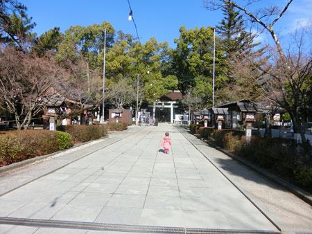 武田神社境内としおこ