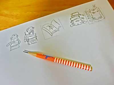 本の素材制作下絵01