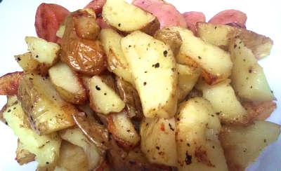 調理後のジャガイモ