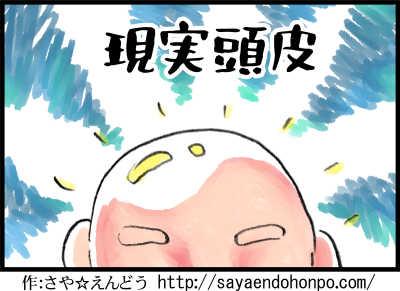 一コマ漫画:げんじつとうひ