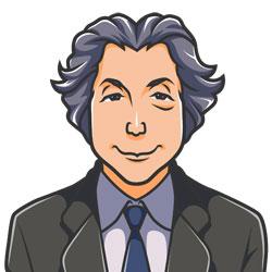 小泉元総理の似顔絵