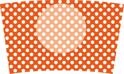 27(水玉白×オレンジ1)