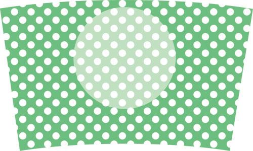 31(水玉白×グリーン)