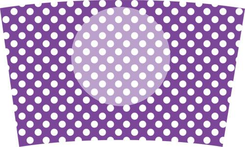 35(水玉白×紫)