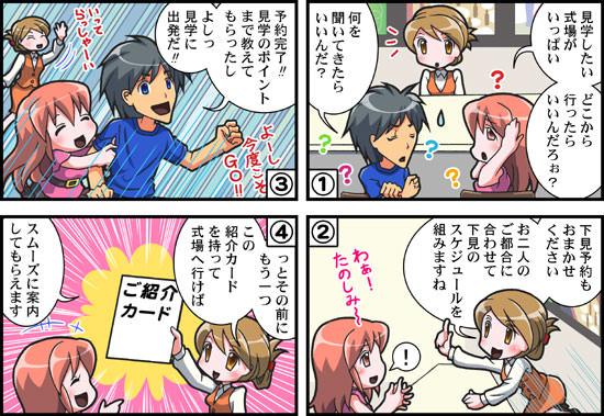 TSSブライダル情報センター様漫画04