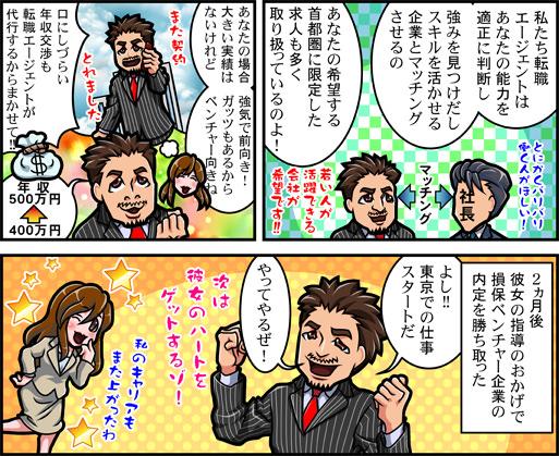 30代の転職漫画02