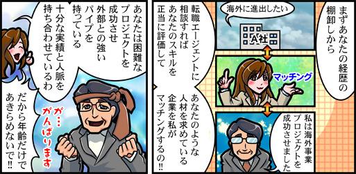 40代の転職漫画02