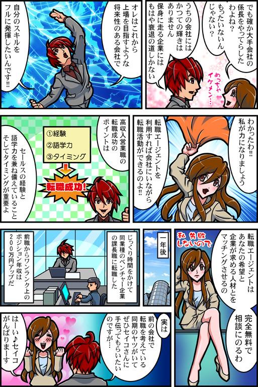 ハイスペックの転職漫画02